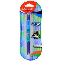 Boligrafo-MAPED-Twin-Tip-4-colores-azul