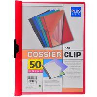 Carpeta-con-clip-A4-PLUS-OFFICE-60-hojas-rojo