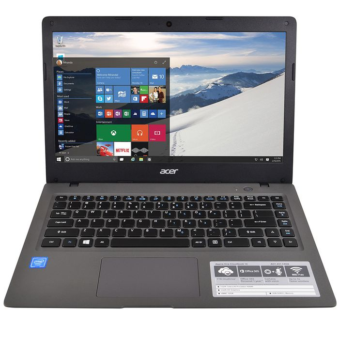 Notebook-ACER-REF-DC-N3050