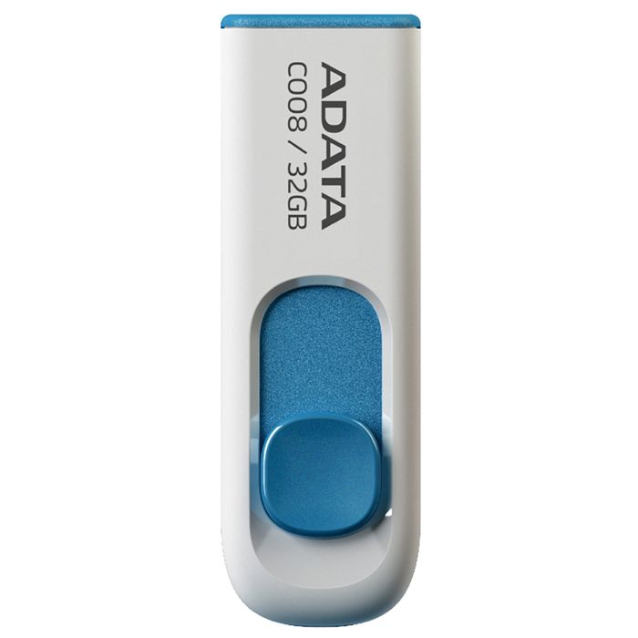 PENDRIVE-A-DATA-C008-32GB-USB-DESLIZ.BLANCO-Y-AZUL