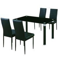 Juego-comedor-Mod.-Abril-mesa-de-vidrio---4-sillas-negro