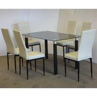 Juego-comedor-Mod.-Abril-mesa-vidrio---6-sillas-en-blanco