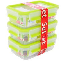 CLIP---CLOSE-food-storage-containers-set-of-3-light-green--3-x-055-L--