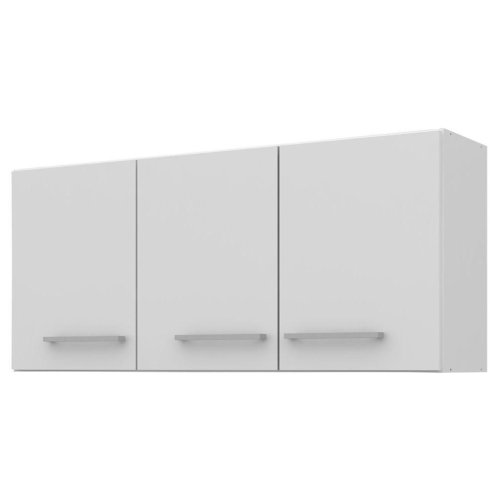Armario A Reo 3 Puertas Con Estantes Blanco 120x47x30 Cm Geant # Geant Muebles De Cocina