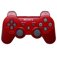 Joystick-PS3-original-red