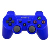 Joystick-PS3-original-blue