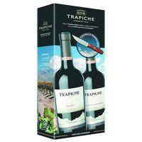Vino-Tinto-Cabernet-Sauvignon---Malbec-Roble-TRAPICHE-Pack