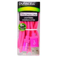 Cable-lightning-DURACELL-1.8mts-rosa-Mod.-LE2197