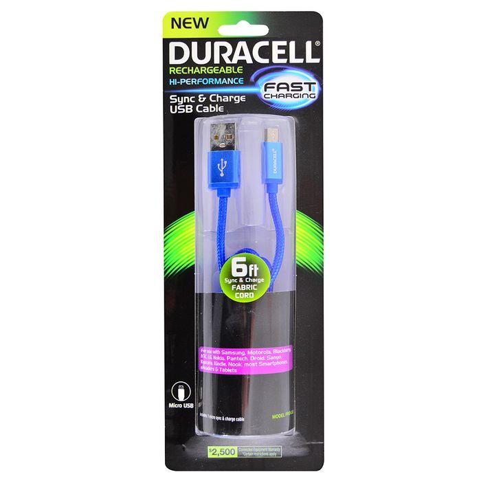 Cable-microusb-DURACELL-1.8mts-azul-Mod.-PRO432