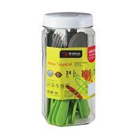 Juego-24-piezas-m-verde-pote-21.6x9cm-new-tropical-DI-SOLLE