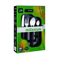 Juego-24-piezas-m-negro-pote-21.6x9cm-millenium-DI-SOLLE