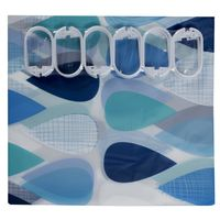 Cortina-de-baño-BUKARA-180x180cm-gotas-azules