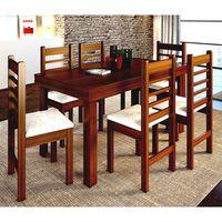 Juego-de-comedor-en-madera-maciza-6-sillas-78x151x81cm