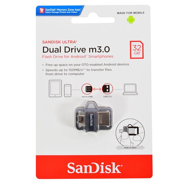 Pendrive-SANDISK-Mod.-Ultra-dual-usb-3.0-32gb