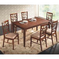Juego-de-comedor-en-madera-mesa---6-sillas-150x90-cm