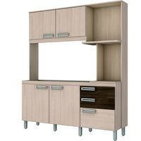Cocina-compacta-Mod.-Britz-4-puertas-3-cajones-195X160X53-cm