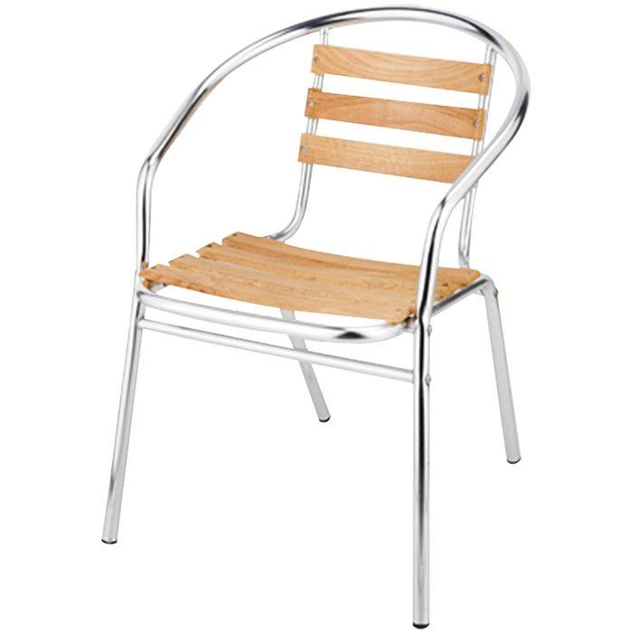Silla-en-aluminio-y-madera