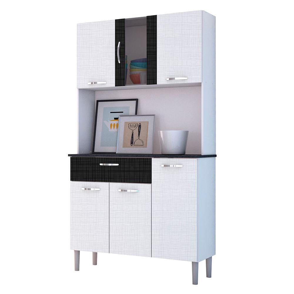 Mueble cocina compacto 6 puertas 92 x 170 x 36 cm - disco