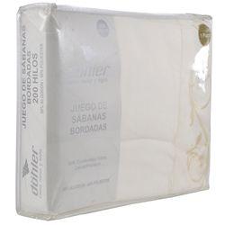 Juego-de-sabanas-1-plaza-230-hilos-con-bordado-Crema