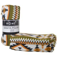 Manta-polar-HOME-2-plazas-200-x-225-cm-estampado-etnico-Beige