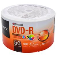 Bulk-x-50-DVD-R-SONY-