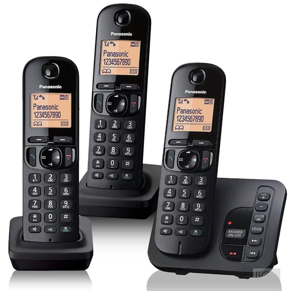 84e779d6f58 Teléfono Inalámbrico PANASONIC Mod. KX-TGC223 - disco