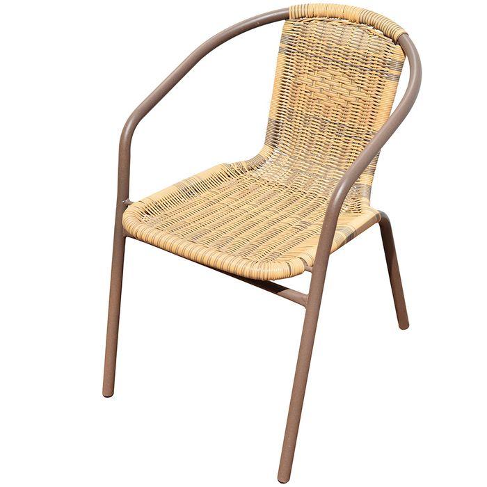 Silla-en-acero-y-ratan-marron-52x58x75-cm