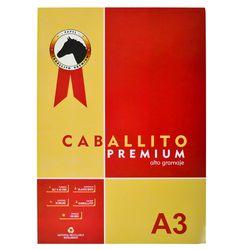 Block-dibujo-A3-CABALLITO-Premium-10-hojas-180-g