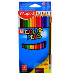 Lapices-de-colores-MAPED-12-un.---lapiz---sacapuntas-de-regalo