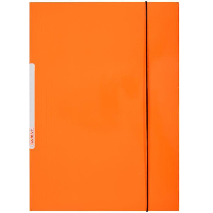 Carpeta-con-elastico-plastificada-TEORIA--naranja