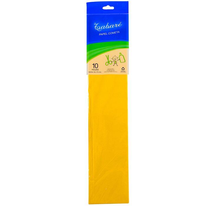 Papel-seda--cometa--amarillo-10-un.