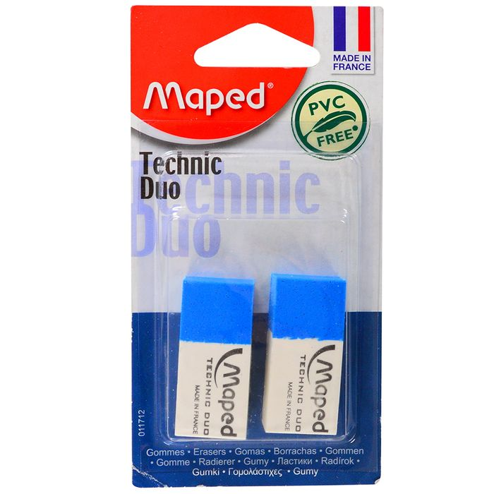 Goma-MAPED-Technic-Duo-lapiz-tinta-2-un.