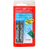 Minas-FABER-CASTELL--0.7mm-con-24-grafos-bl.-x2