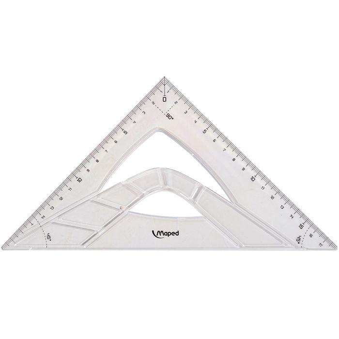 Escuadra-MAPED-Grafic-26cm-60º