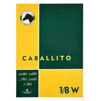 Block-dibujo-1-8-W-CABALLITO-10-hojas-100-g