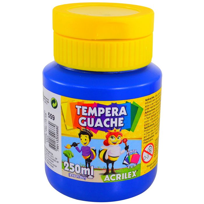 Tempera-escolar-ACRILEX-250-ml-azul