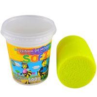 Masa-de-moldear-ACRILEX-soft-fluo-500g-amarillo