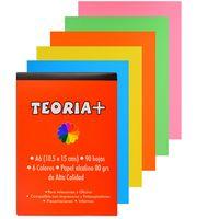 Block-papel-obra-color-A6-80-g