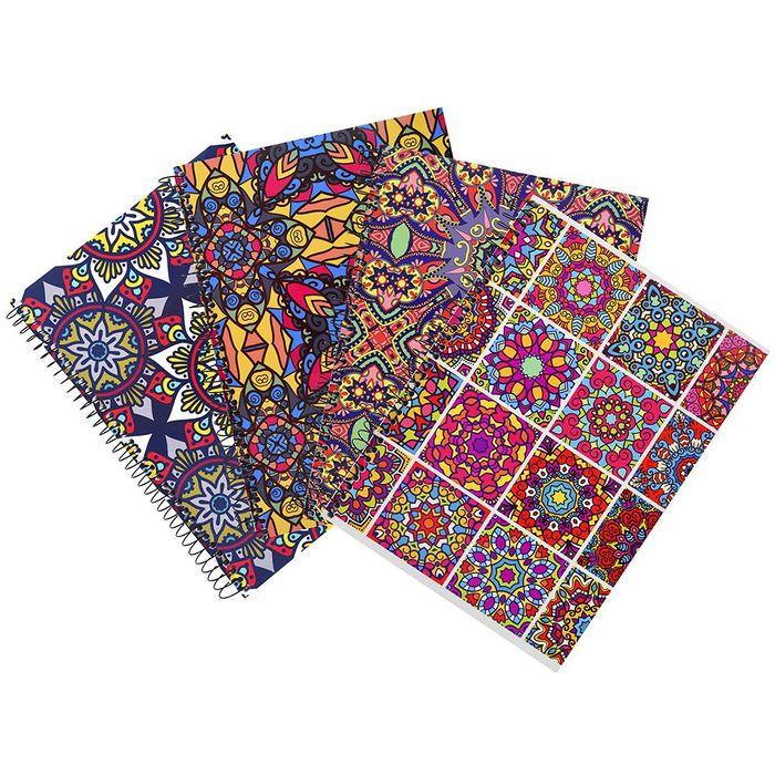 Cuadernola-MANDALAS-tapa-flexible-150-hojas-varios-diseños