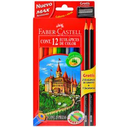 Lapices-de-colores-FABER-CASTELL-12-un.--regalo