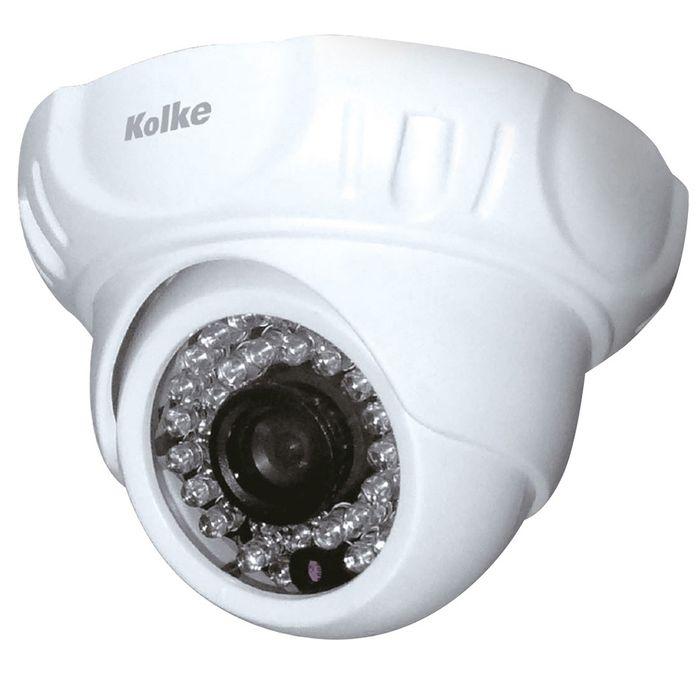 Camara-de-seguridad-KOLKE-Mod.-KSE-201.-Domo-de-1MP-36-leds-infrarrojos-rango-de-vision-nocturna-30-metros-resolucion-720p-Garantia-1-Año