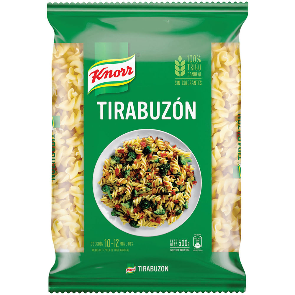 Fideo Knorr tirabuzon 500 grs
