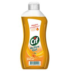 Detergente-CIF-Active-Gel-Enjuague-Facil-Citrica-300-ml