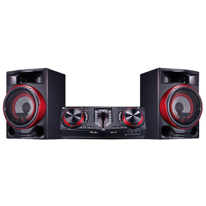 Minicomponente--LG-Mod--CJ87--Potencia-2500W-RMSReproduce-CD-MP3Conexion-USB-2-BluetoothSintoniza-AM-FM-Funcion-Karaoke-Efecto-DJ-Garantia-1-año