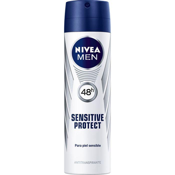 Desodorante-NIVEA-spray-For-Men-piel-sensible