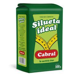 Yerba-CABRAL-Silueta-Ideal-500-g