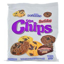 Galletitas-Dulces-PORTEZUELO-Surtidas-con-Chips-200-g