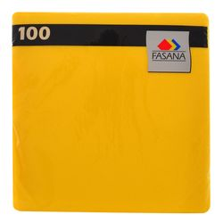 Servilleta-FASANA-Lisa-Amarilla-100-un.
