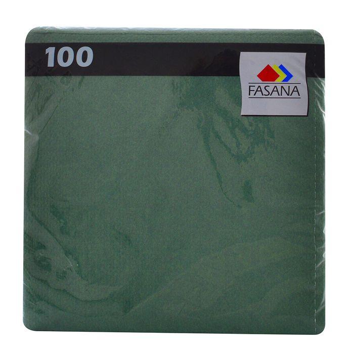 Servilleta-FASANA-Lisa-Verde-100-un.