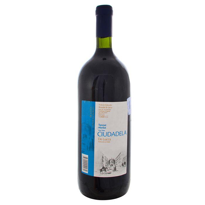 Vino-Tinto-Tannat-Merlot-CIUDADELA-15-L